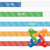 Joomla 3.x. How to manage progress bars