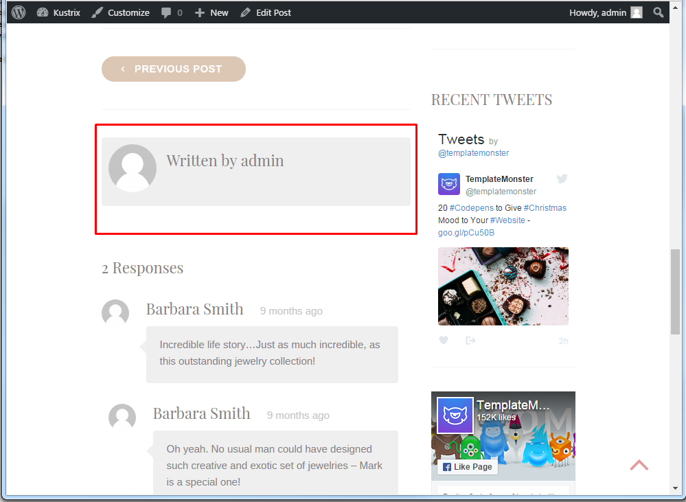 Wordress_Blogging_themes.How_to_get_rid_of_Written_By_1