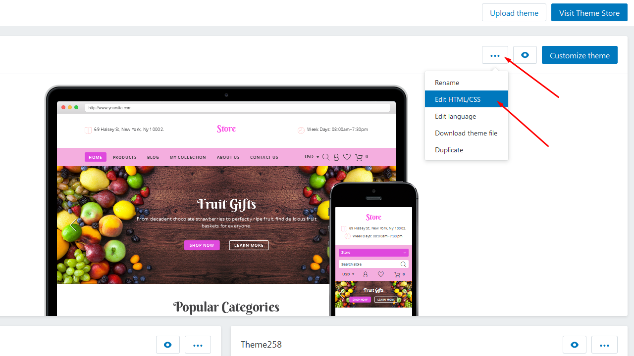 Shopify How To Add Icon Into Custom Block Template Monster Help - Shopify template language