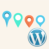 WordPress Blogging themes. How to add multiple markers to the Google map