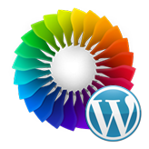 WordPress Blogging themes. How to edit colors using Power Builder