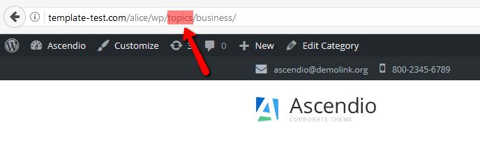 Wordpress How To Change Category Slug In Website Permalinks Template Monster Help