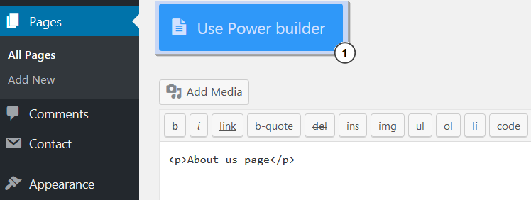 WordPress_Blogging_themes_How_to_edit_colors_using_Power_Builder_1