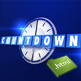 JS Animated. How to setup countdown timer