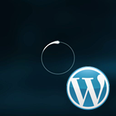 WordPress Blogging themes. How to change pre-loader icon to an image