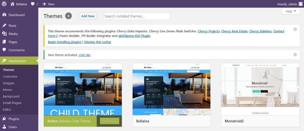 Temas Blogging de WordPress. Cómo instalar sample data del Tema para ...
