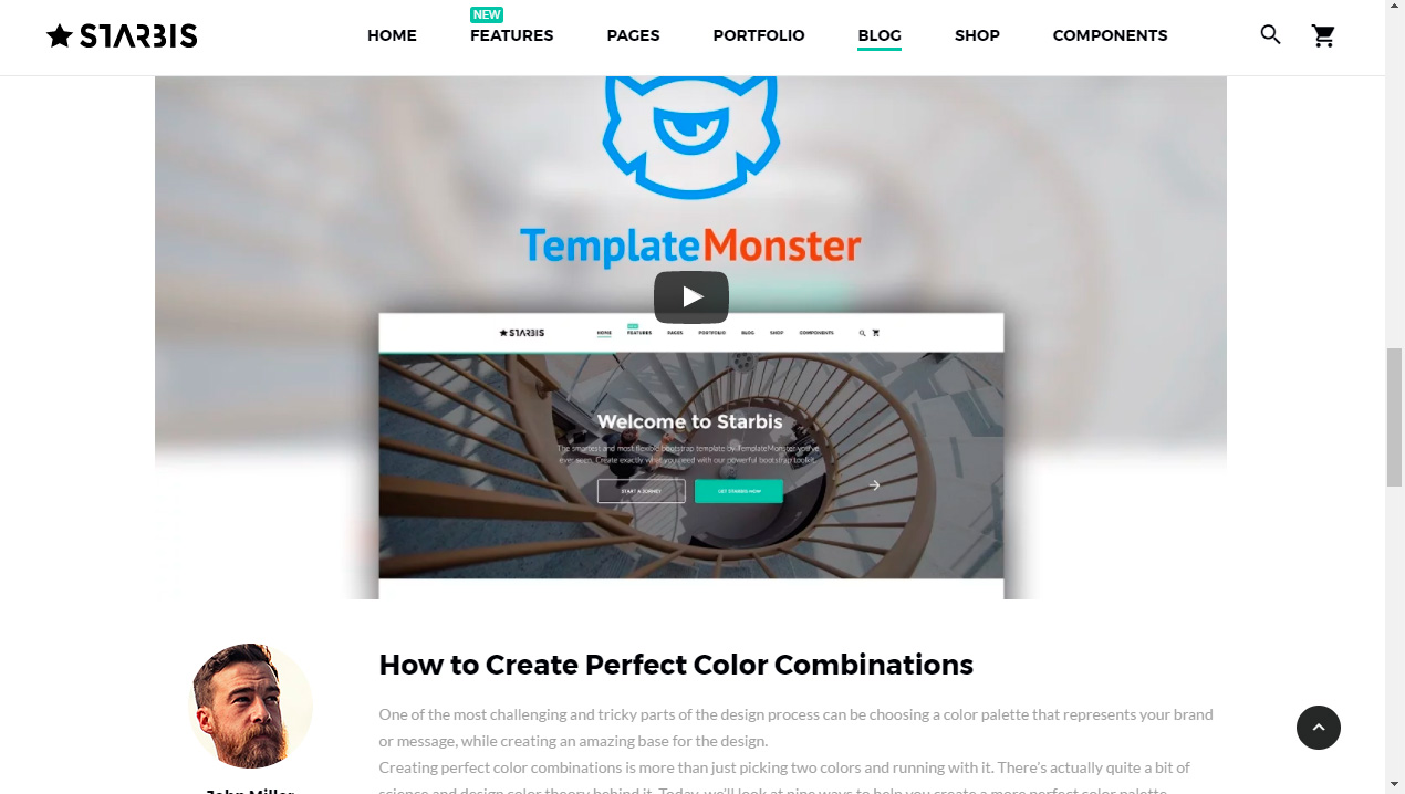 Multipurpose Website Templates. How to use anchor links - Template ...