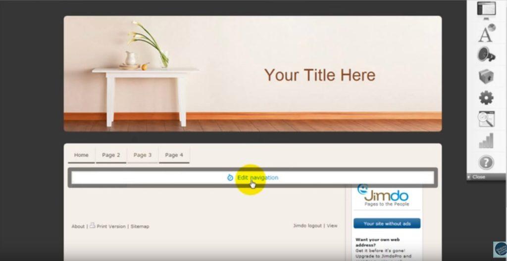 Jimdo Seite Löschen Hilfe Von Templatemonster