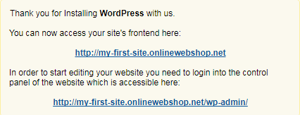 how to create a free wordpress website