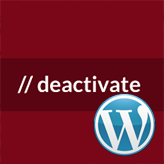 How to deactivate all plugins when not able to access WordPress dashboard