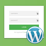 How to add front-end login form and widgets in WordPress