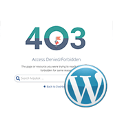 How to fix the 403 forbidden error in WordPress