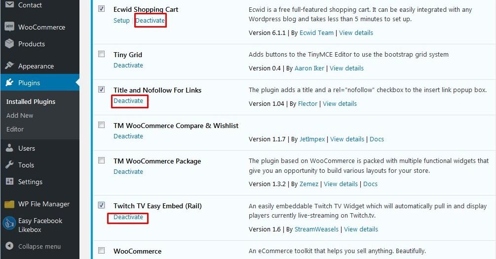 How to fix the 403 forbidden error in WordPress - Template