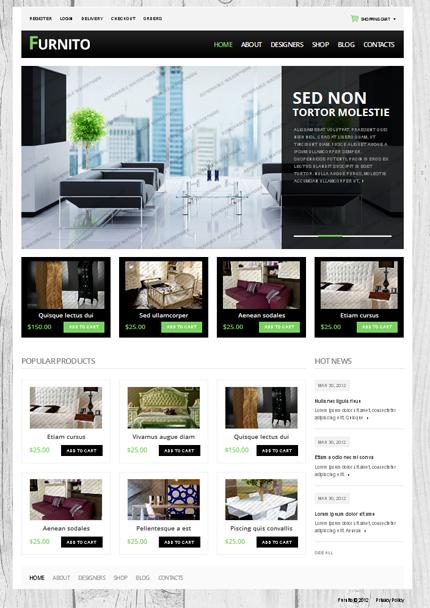 Free Drupal eCommerce Theme