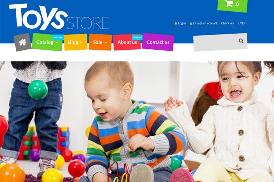 Как создать интернет магазин детских игрушек