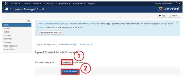 Как сделать свой сайт самому на joomla