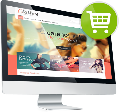 Predesigned templates to handle e commerce store on your wordpress