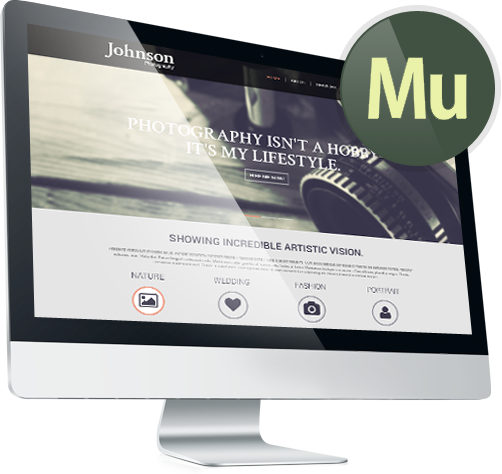 Adobe Muse Websites Muse Templates | Adobe Muse